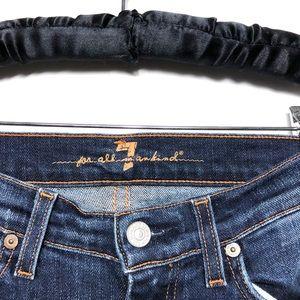 7 For All Mankind Jeans - 7 FAMK Dojo Wide Leg Jeans - 27 (33in Inseam)